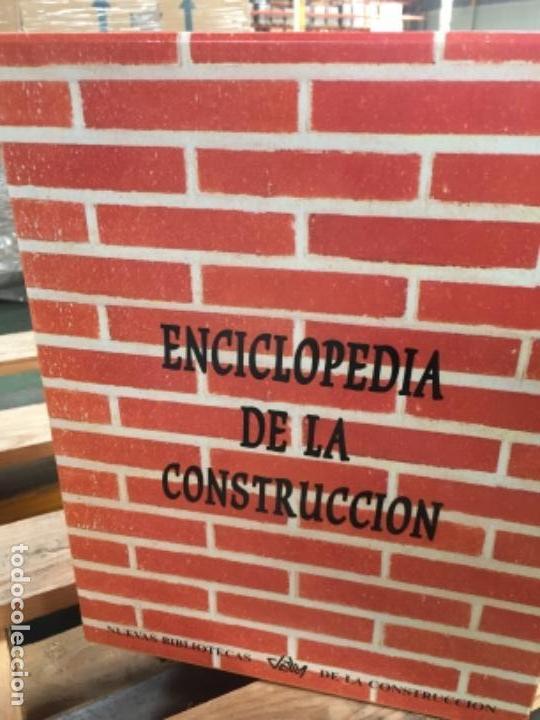 ENCICLOPEDIA DE LA CONSTRUCCIÓN, 8 TOMOS (Libros Antiguos, Raros y Curiosos - Ciencias, Manuales y Oficios - Otros)