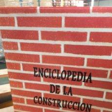 Libros antiguos: ENCICLOPEDIA DE LA CONSTRUCCIÓN, 8 TOMOS. Lote 137776390
