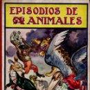 Libros antiguos: EPISODIOS DE ANIMALES - BIBLIOTECA PARA NIÑOS SOPENA, 1930. Lote 137844130