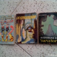 Libros antiguos: LOTE DE LIBROS PULGA. Lote 137883758
