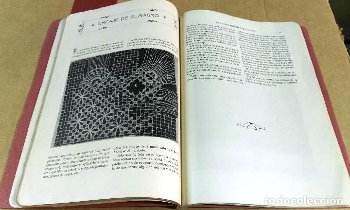 Libros antiguos: X. del Amo, Instrucciones para bordar con la máquina Singer para coser, Madrid, 1914 - Foto 5 - 137898090