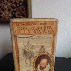 Libros antiguos: CERVANTES, EL INGENIOSO HIDALGO DON QUIJOTE DE LA MANCHA. Lote 137956630