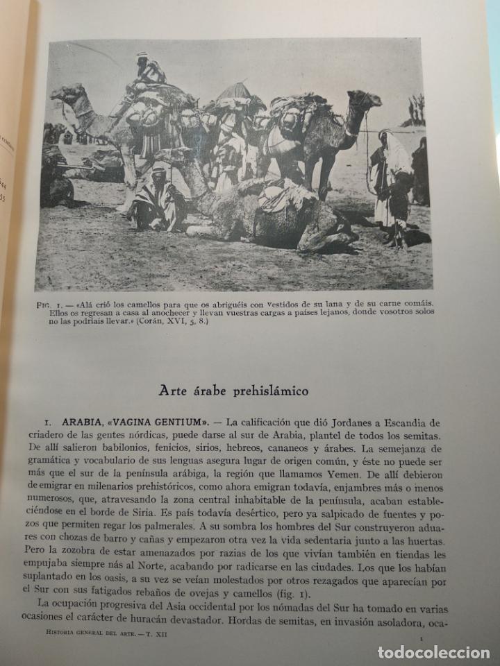 Libros antiguos: SUMMA ARTIS - ARTE ISLÁMICO - VOL. XII - JOSÉ PIJOÁN - 1960 -3ª EDICIÓN - - Foto 3 - 138015858