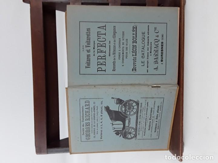 Libros antiguos: 1797- 2 libros L'AUTOMOBILE THÉORIQUE ET PRATIQUE; 1899 - Foto 11 - 22507120