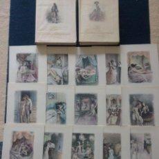 Libros antiguos: RARA EDICION CON 21 GRABADOS EROTICOS DE PAUL-ÉMILE BÉCAT (1885-1960) CON DOS LIBROS, 900 EJEMPLARES. Lote 138049218