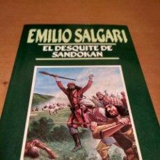 Libros antiguos: EL DESQUITE DE SANDOKAN. Lote 138072846