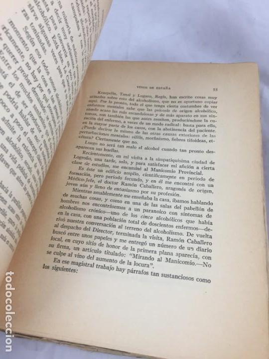 Libros antiguos: Vinos de España / prólogo de Federico García Sanchiz. Belda, Joaquin. 1929 - Foto 5 - 138089942
