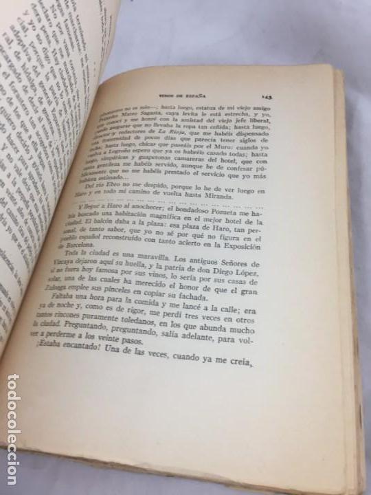 Libros antiguos: Vinos de España / prólogo de Federico García Sanchiz. Belda, Joaquin. 1929 - Foto 8 - 138089942