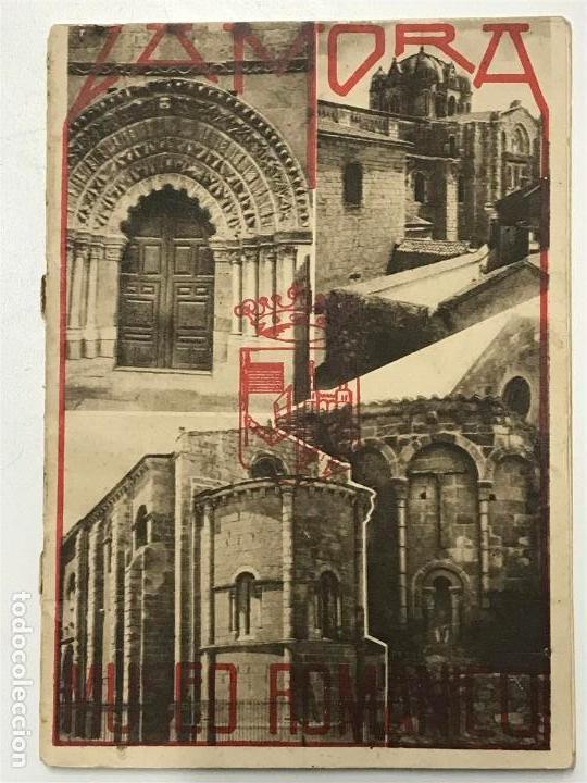 ZAMORA MUSEO ROMÁNICO. IMPRENTA JACINTO GONZÁLEZ. ZAMORA. (Libros Antiguos, Raros y Curiosos - Historia - Otros)