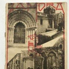 Libros antiguos: ZAMORA MUSEO ROMÁNICO. IMPRENTA JACINTO GONZÁLEZ. ZAMORA. . Lote 138091166