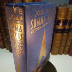 Libros antiguos: SUMMA ARTIS - ARTE DEL PERIODO HUMANÍSTICO DEL TRECEN - VOL. XIII - JOSÉ PIJOÁN - 1961 -3ª EDICIÓN -. Lote 138097706