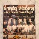 Libros antiguos: GRANDES MAESTROS DE LA NUEVA COCINA VASCA(21€). Lote 138173646
