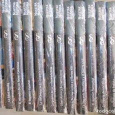 Libros antiguos: NUESTRA HISTORIA 12 TOMOS EDICIONES SIGNO NUEVA A ESTRENAR CON PROTECTOR Y CAJA. Lote 138199402