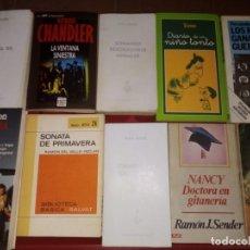 Libros antiguos: LOTE DE LIBROS VARIADOS . Lote 138373886
