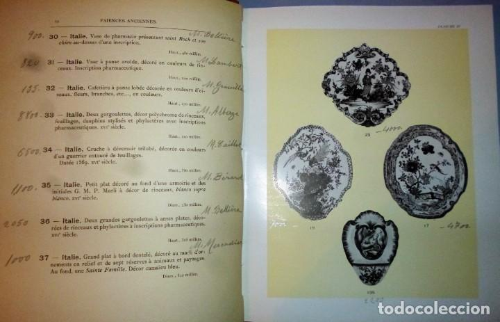 Libros antiguos: FAIENCES ANCIENNNES. PORCELAINES ANCIENNES. VITRINES. - Foto 4 - 138516006