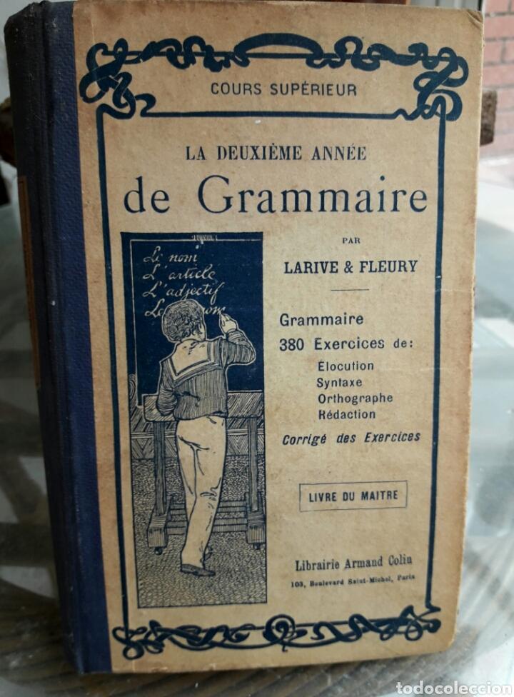 COURS GRAMMAIRE, 1932 (Libros Antiguos, Raros y Curiosos - Otros Idiomas)