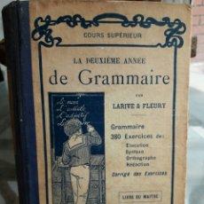 Cours GRAMMAIRE, 1932