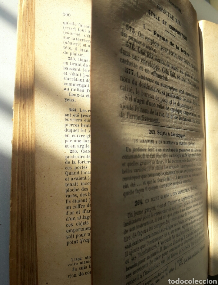 Libros antiguos: Cours GRAMMAIRE, 1932 - Foto 5 - 138540026
