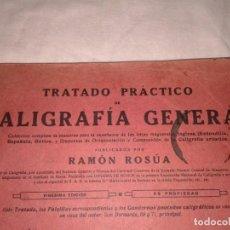 Libros antiguos: TRATADO PRACTICO CALIGRAFIA GENERAL 1930. Lote 138549518