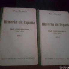 Libros antiguos: HISTORIA DE ESPAÑA - PIO ZABALA. Lote 138553740