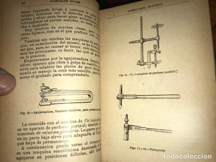 Libros antiguos: Colección libros Manuales Gallach - Foto 6 - 138557342