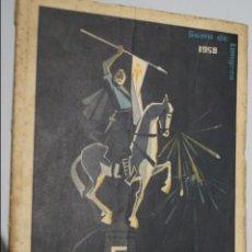 Libros antiguos: FESTEJOS DE SANTIAGO. SAMA DE LANGREO. 1958. Lote 138606338