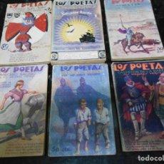 Libros antiguos: LIBROS ANTIGUOS LOS POETAS. Lote 138609602
