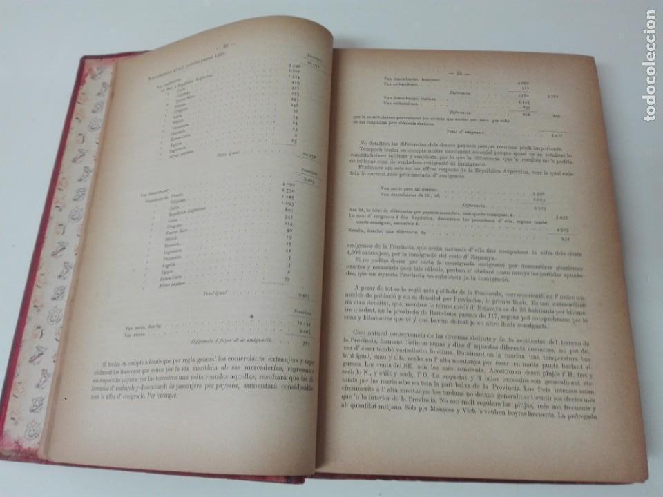 Libros antiguos: Memoria del mapa vinicola de la provincia de Barcelona año 1890 - Foto 4 - 138648482