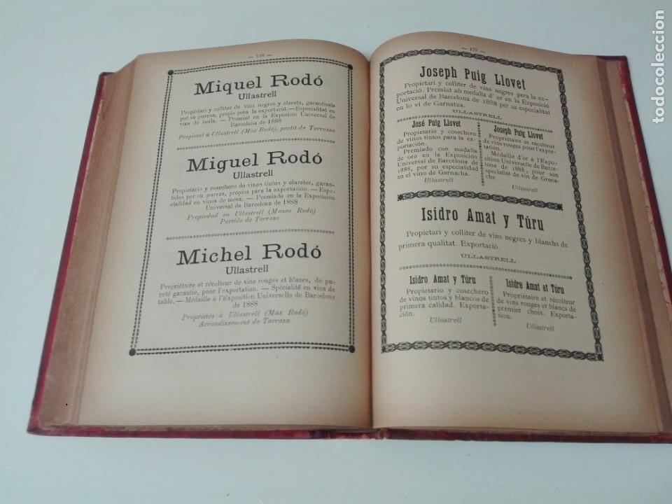 Libros antiguos: Memoria del mapa vinicola de la provincia de Barcelona año 1890 - Foto 8 - 138648482