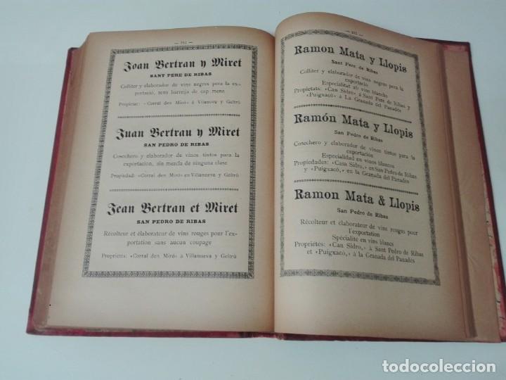 Libros antiguos: Memoria del mapa vinicola de la provincia de Barcelona año 1890 - Foto 10 - 138648482