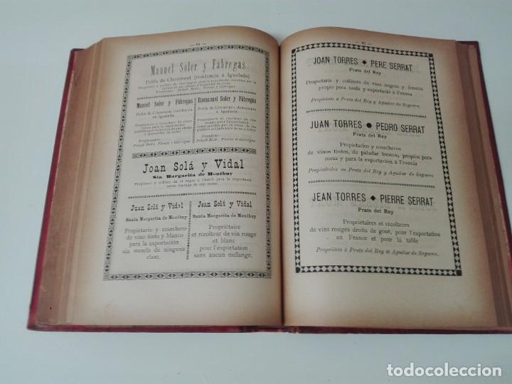Libros antiguos: Memoria del mapa vinicola de la provincia de Barcelona año 1890 - Foto 11 - 138648482