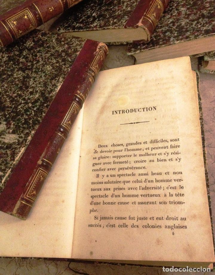 Libros antiguos: VIE, CORRESPONDENCE ET ESCRITS DE WASHINGTON- 1840- 6 TOMOS- M. GUIZOT- - Foto 5 - 138724570
