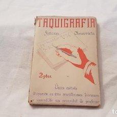Libros antiguos: TAQUIGRAFÍA SISTEMA OLAVARRIETA - COLECCIÓN VARIA 1933 - SISTEMA OLAVARRIETA. Lote 138735085