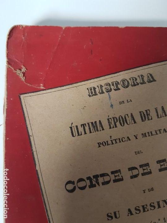 Libros antiguos: HISTORIA ULTIMA ÉPOCA CONDE DE ESPAÑA Y SU ASESINATO ( TRESSERA 1944 ) - Foto 2 - 138777662