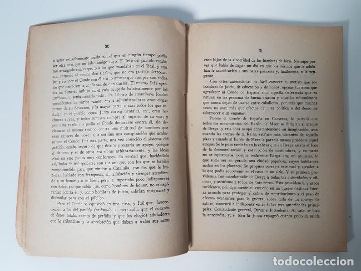 Libros antiguos: HISTORIA ULTIMA ÉPOCA CONDE DE ESPAÑA Y SU ASESINATO ( TRESSERA 1944 ) - Foto 5 - 138777662