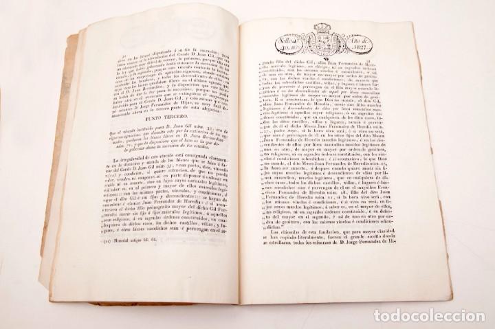 Libros antiguos: ALEGACION EN DERECHO POR DON JOSÉ MARIA PIGNATELLI EN EL PLEITO QUE SIGUE CONTRA DOÑA MARIA - Foto 7 - 138807746