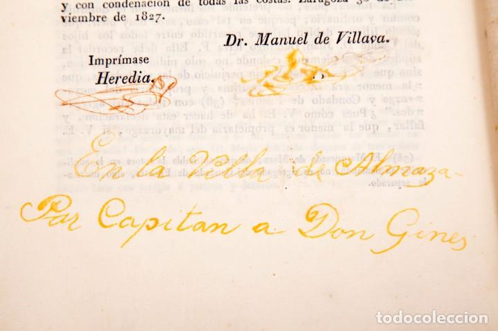 Libros antiguos: ALEGACION EN DERECHO POR DON JOSÉ MARIA PIGNATELLI EN EL PLEITO QUE SIGUE CONTRA DOÑA MARIA - Foto 9 - 138807746
