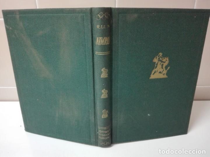 Libros antiguos: Nimrud narraciones y hechos de caza firmado y dedicado por el autor - Foto 3 - 138823714