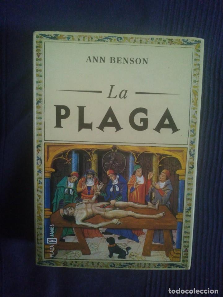 ANNE BENSON.LA PLAGA (Libros Antiguos, Raros y Curiosos - Ciencias, Manuales y Oficios - Otros)