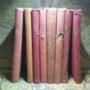 Libros antiguos: LOTE 8 LIBROS DE BIBLIOTECA GRANDES NOVELAS. RAMÓN SOPENA.. Lote 138853618