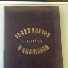 Libros antiguos: LIBRO ILUSTRACIÓN ESPAÑOLA 1888. Lote 138861288