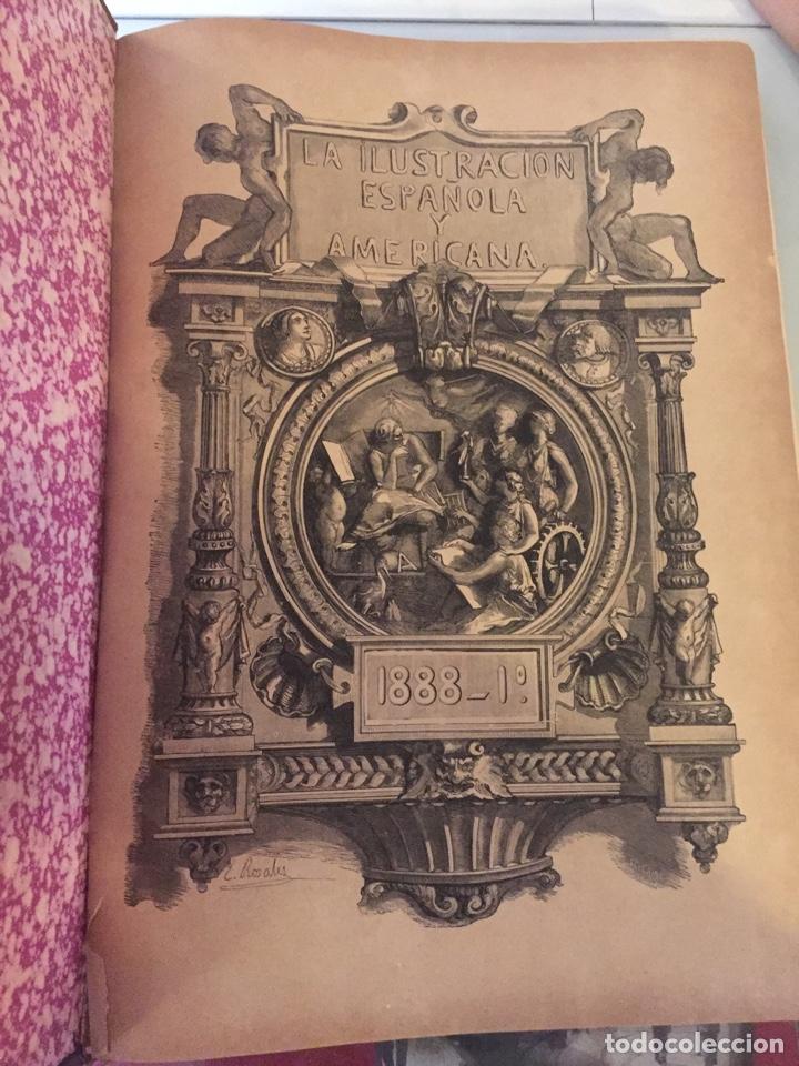 Libros antiguos: Libro ilustración española 1888 - Foto 3 - 138861288