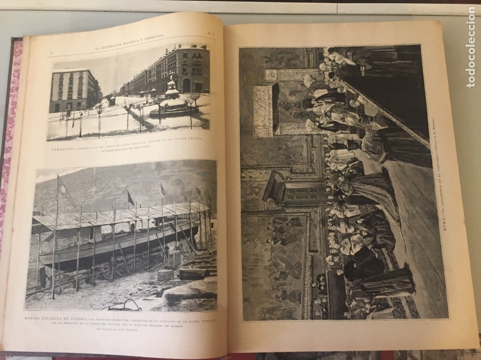 Libros antiguos: Libro ilustración española 1888 - Foto 4 - 138861288