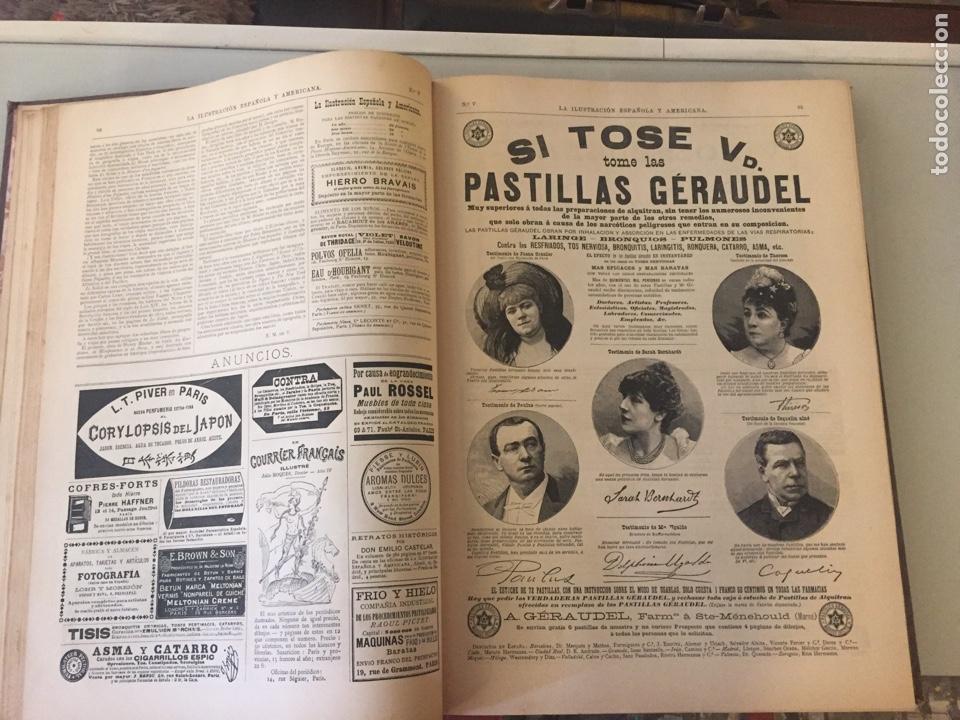 Libros antiguos: Libro ilustración española 1888 - Foto 5 - 138861288