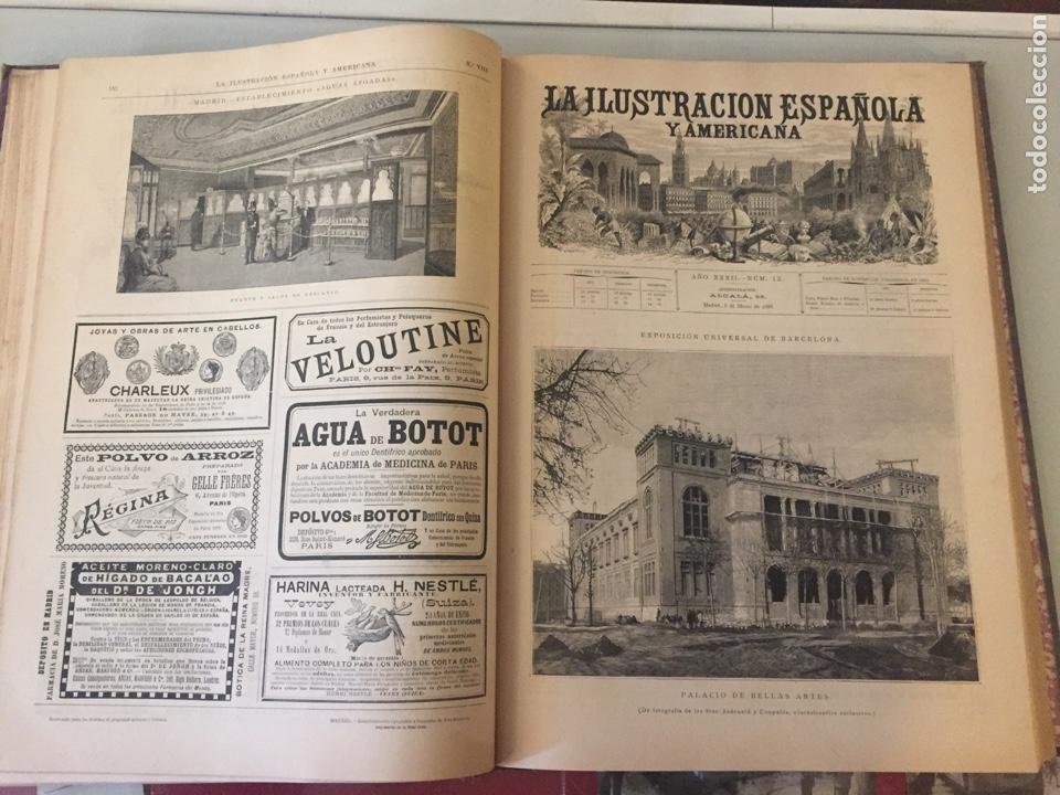 Libros antiguos: Libro ilustración española 1888 - Foto 6 - 138861288