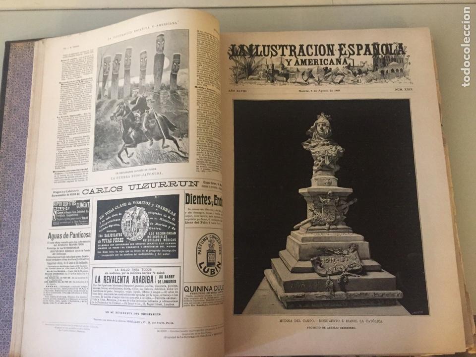 Libros antiguos: Libro la ilustración española y americana 1904 - Foto 4 - 138862498