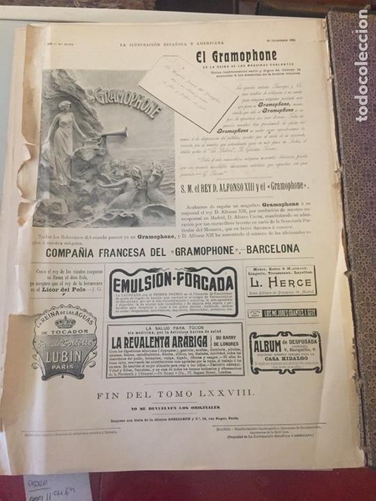 Libros antiguos: Libro la ilustración española y americana 1904 - Foto 9 - 138862498