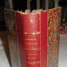 Libros antiguos: OEUVRES DE FRANÇOIS COPPEE POESIES 1874 - 1878 EDITORIAL LEMERRE PARIS. Lote 138890538