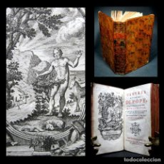 Libros antiguos: AÑO 1763 EL RIZO ROBADO ALEXANDER POPE FRONTISPICIO Y GRABADOS A PLENA PÁGINA POESÍA SATÍRICA. Lote 138923502