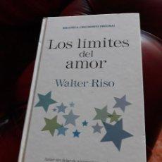 Libros antiguos: LOS LÍMITES DEL AMOR DE WALTER RISO. Lote 138966310